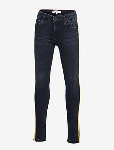NORA SKINNY TAPE EBB - jeans - eve blue black stretch