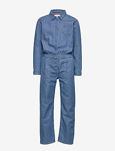 DENIM OVERALL LWMR - LIGHT WEIGHT MID RIGID