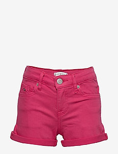 NORA SHORT SOCDST - shorts - blush red