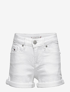 NORA SHORT SOCDST - shorts - white