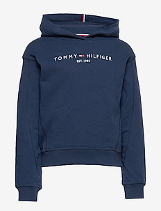 ESSENTIAL HOODED SWE - hoodies - twilight navy