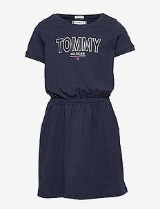 JERSEY TEE DRESS S/S - jurken - twilight navy