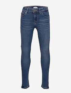NORA RR SKINNY - MDBSTR - jeans - midnight dark blue stretch