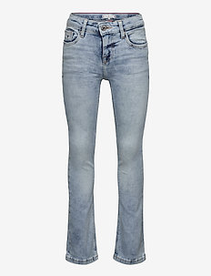NORA SKINNY FLARE - CLBSTR - jeans - cloudy light blue stretch