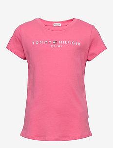 ESSENTIAL TEE S/S - krótki rękaw - glamour pink