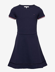 ESSENTIAL SKATER DRESS - kjoler - twilight navy