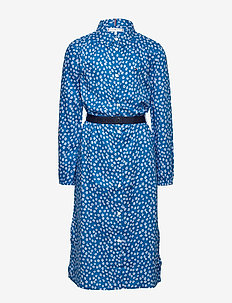 DITSY FLOWER PRINT DRESS S/S - dresses - dynamic blue/ ditsy flower