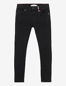 NORA SUPER SKINNY WREPLBLS - jeans - waterrepellentblackstr