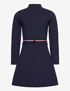 ESSENTIAL SKATER DRE - dresses - twilight navy