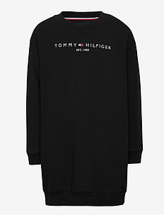 ESSENTIAL SWEAT DRES - sweatshirts - black