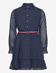 FLOCK STAR DRESS L/S - dresses - twilight navy