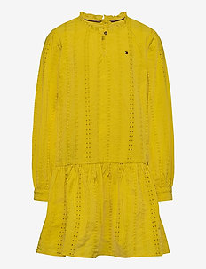 EMBROIDERY ANGLAIS D - robes - valley yellow