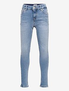 NORA SKINNY - jeans - summer blch blue str