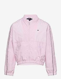 ESSENTIAL LOGO JACKET - bomber jackets - pink breeze