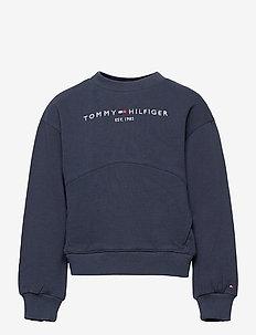 ESSENTIAL SWEATSHIRT - sweatshirts & hoodies - twilight navy
