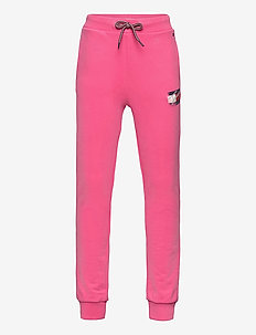 FLAG PRINT SWEATPANTS - sweatpants - exotic pink