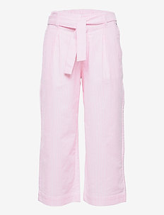 NEON ITHACA STRIPE PANTS - trousers - cotton candy