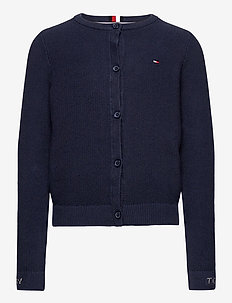 STRUCTURED CARDIGAN - cardigans - twilight navy