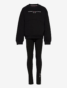 ESSENTIAL HWK CN LEGGING SET - odzież - black