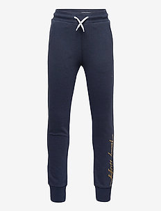 SCRIPT SWEATPANT - sweatpants - twilight navy