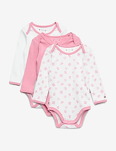 BABY BODY 3 PACK GIFTBOX - SEA PINK