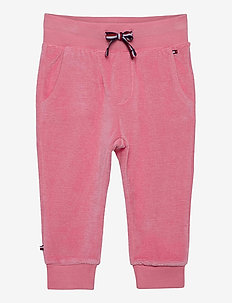 BABY VELOURS SWEATPANTS - joggingbroek - rosey pink