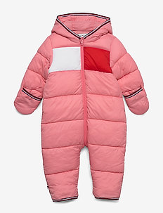 BABY FLAG SKISUIT - thermo - rosey pink