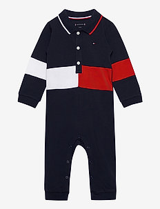 BABY COLORBLOCK COVERALL L/S - À manches longues - twilight navy