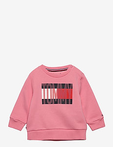 BABY FLAG TRACKSUIT SET - dresy - rosey pink