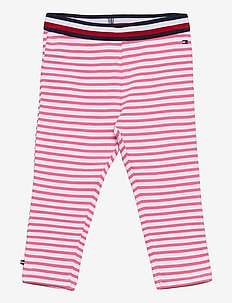 BABY TOMMY LEGGINGS - sweatpants - exotic pink