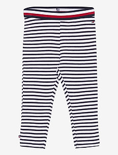 BABY TOMMY LEGGINGS - sweatpants - navy stripe