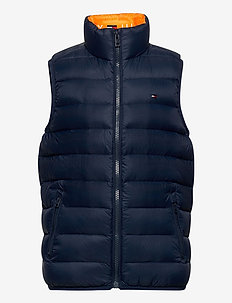 U LIGHT DOWN VEST - vester - twilight navy