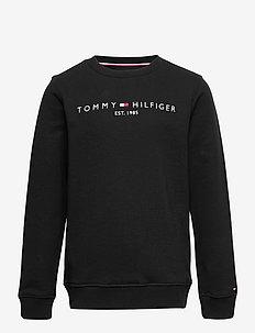 ESSENTIAL SWEATSHIRT - sweatshirts - black