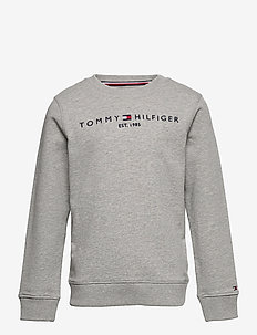 ESSENTIAL SWEATSHIRT - sweatshirts - light grey heather