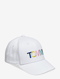 COLLEGE TOMMY CAP - BRIGHT WHITE