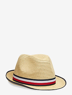BOYS STRAW HAT - NATURAL