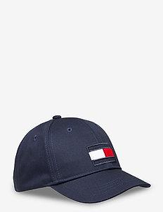 BIG FLAG CAP - caps - twilight navy