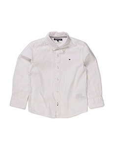 SOLID OXFORD SHIRT L - CLASSIC WHITE