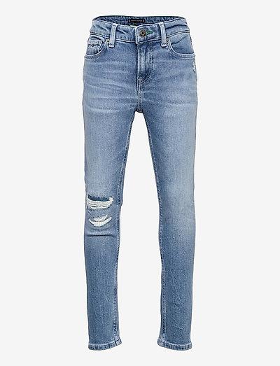 SCANTON SLIM - jeans - recycledastrablue