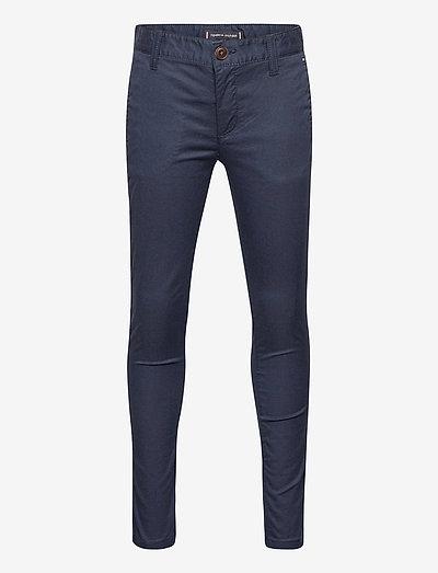 ESSENTIAL TH FLEX SKINNY CHINOS - pantalons - twilight navy