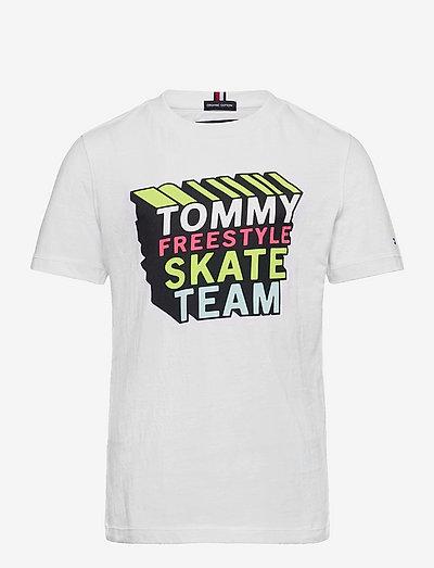 TH COOL LOGO TEE S/S - t-shirts - white
