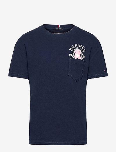 FUN ARTWORK POCKET TEE S/S - t-shirts - twilight navy