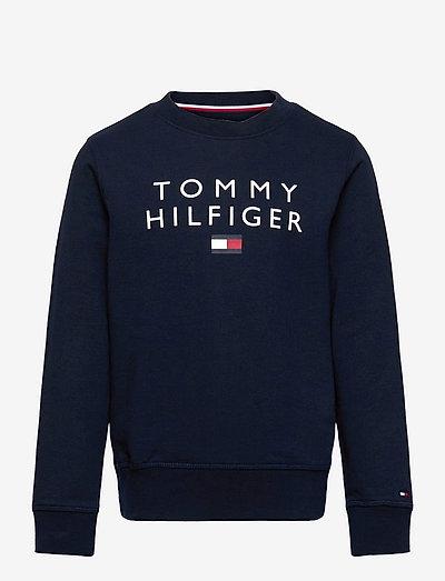 TOMMY FLAG CREWNECK - sweatshirts - desert sky
