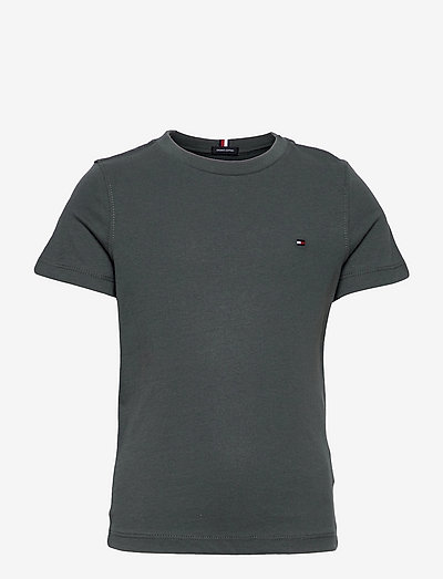 ESSENTIAL COTTON TEE S/S - short-sleeved - green slate