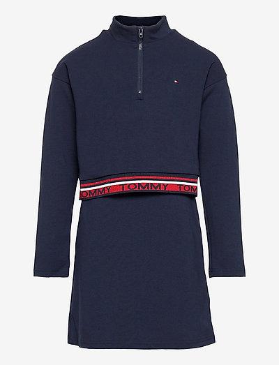 PUNTO DRESS L/S - dresses - twilight navy