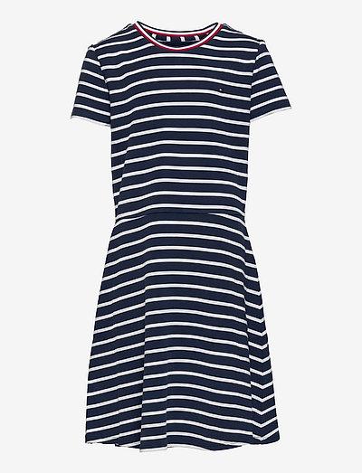 SKATER DRESS S/S - dresses - twilight navy