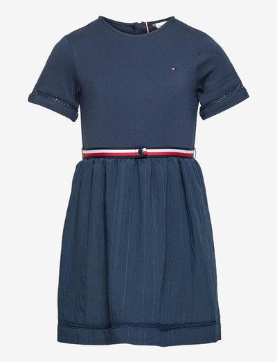 COMBI DRESS S/S - dresses - twilight navy