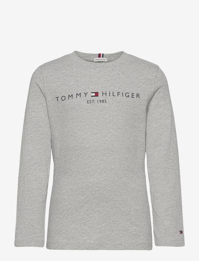 ESSENTIAL TEE L/S - langärmelig - light grey heather