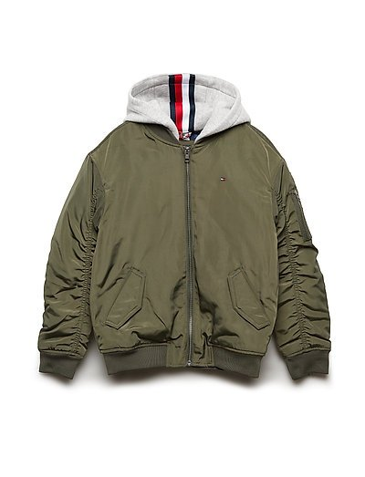 ESSENTIAL HOODED BOM - FOREST NIGHT