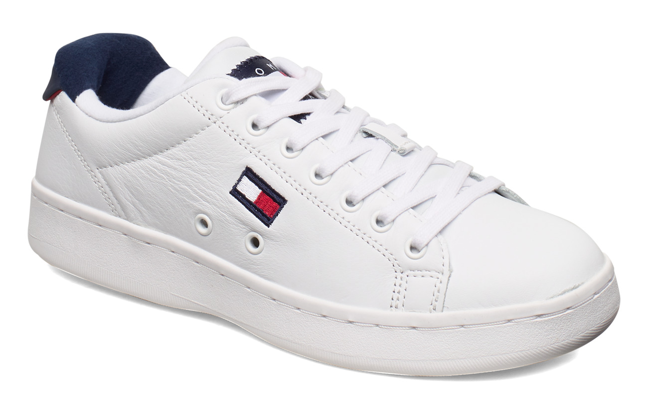 Tommy Hilfiger WMNS CUPSOLE HERITAGE SNEAKER - WHITE